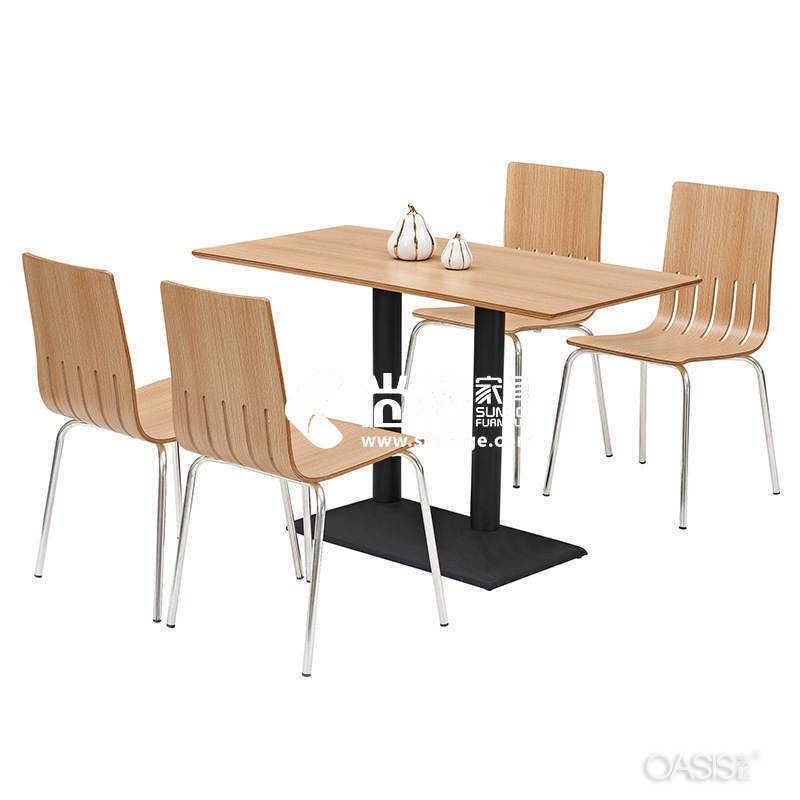 如何经济合理布局快餐店桌椅