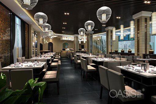 流行的餐厅桌椅风格有哪些?