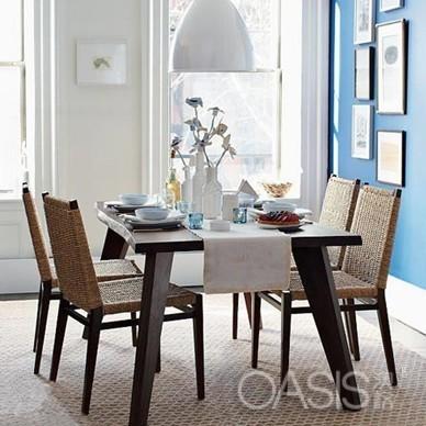 每一间餐厅简单的餐桌椅都可以营 ...