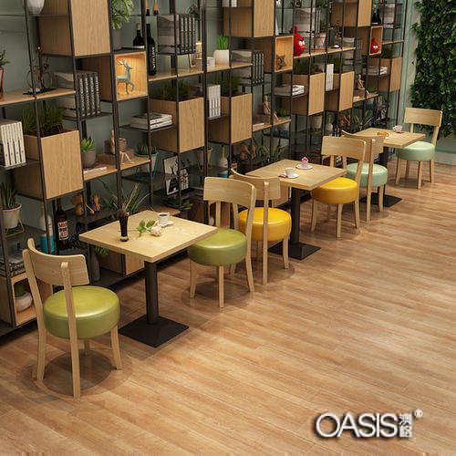 甜品店桌椅定做工程案例