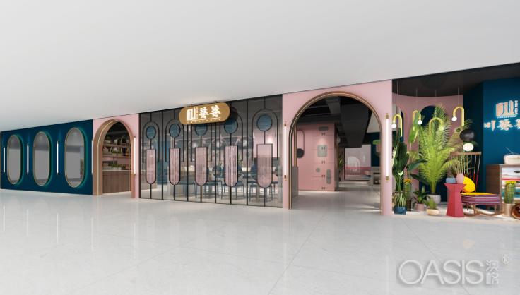 香港川婆婆餐饮家具设计案例