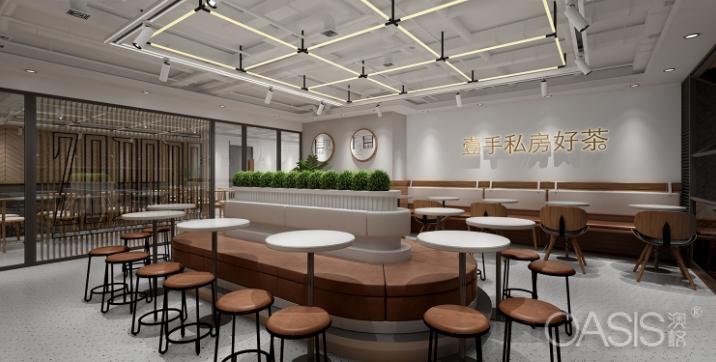 深圳佐敦道餐饮家具设计案例