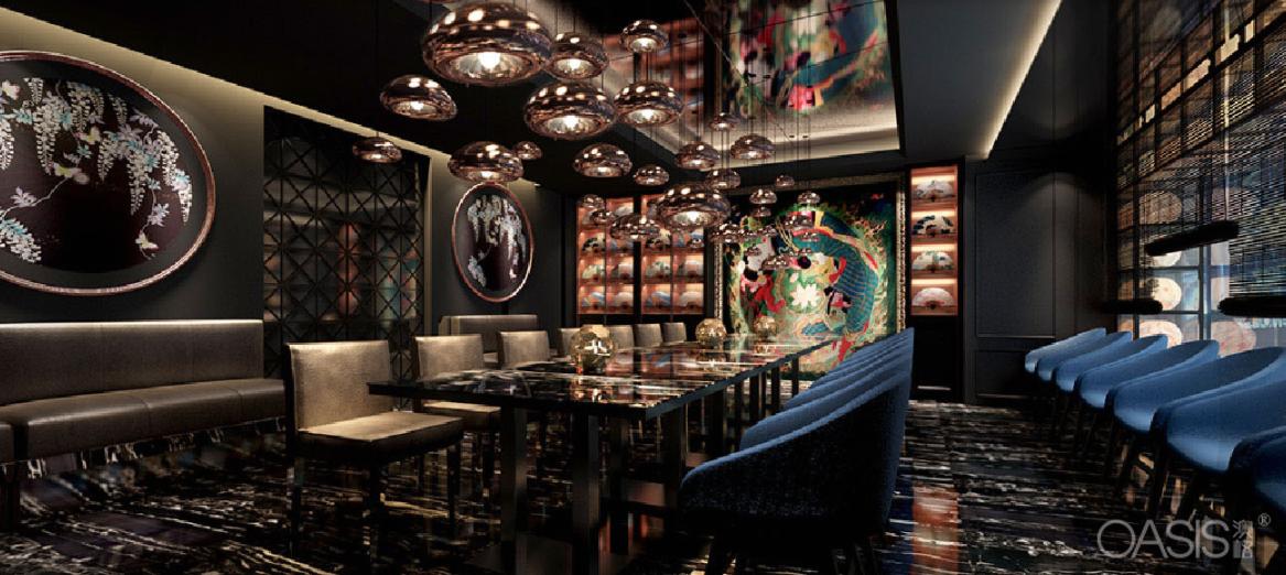 滟京都音乐餐厅家具生产案例