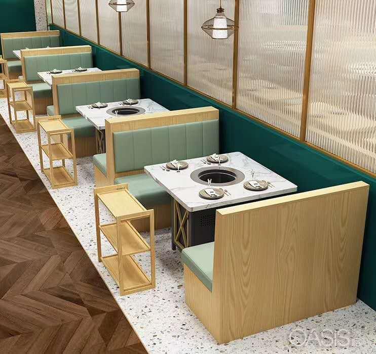 火锅餐桌椅清洁时需要注意的技巧 餐饮家具