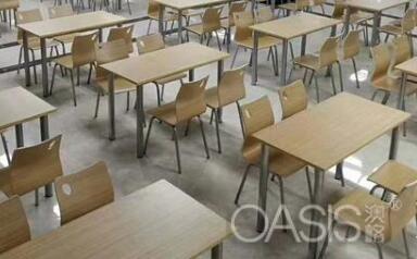 员工餐厅和食堂桌椅家具如何搭配舒适|餐饮家具