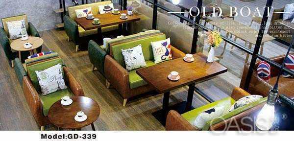 咖啡厅卡座沙发选哪种舒适性好|餐厅家具