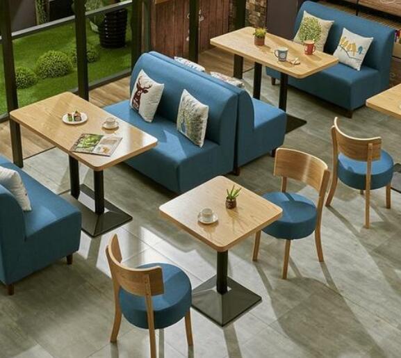 咖啡桌椅设计定制如何选择材质|餐饮家具
