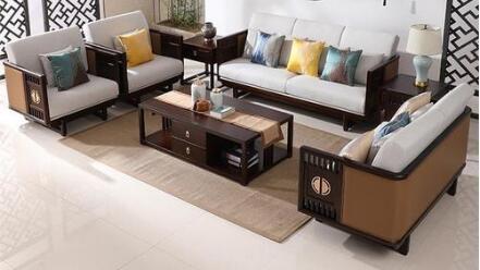 餐厅家具中如何选择样板房沙发搭配布局