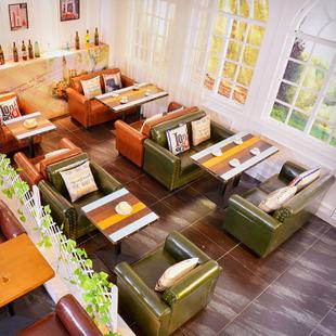 咖啡店沙发