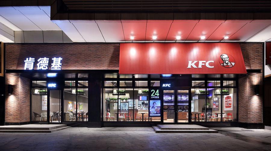 深圳光明店西式快餐厅KFC家具定制工程案例
