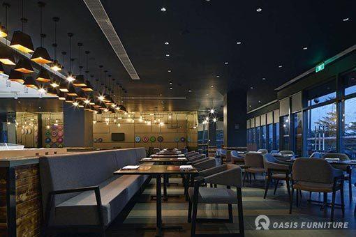 西餐厅桌椅尺寸一般多少合适?如何选购搭配?