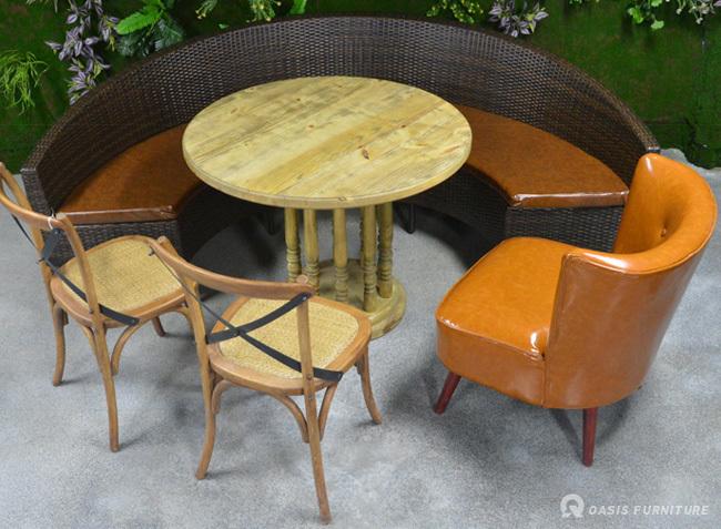 餐厅卡座沙发如何挑选摆放舒适?需要注意什么?
