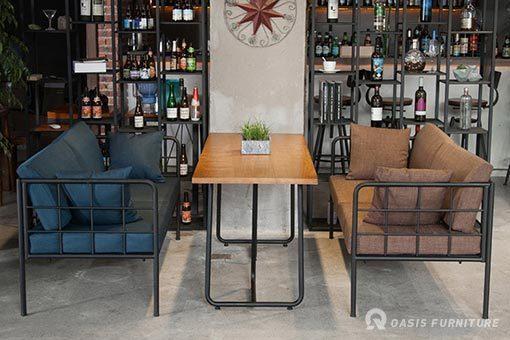 西餐厅餐桌椅尺寸定制一般多少合适?