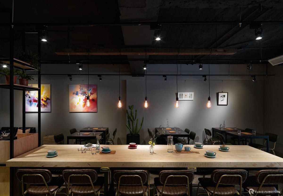 咖啡厅设计应注意哪些原则?如何布局家具