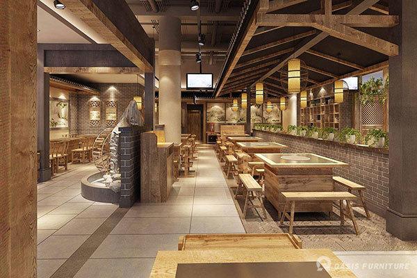 如何挑选适合自己的火锅店家具厂家-餐饮家具