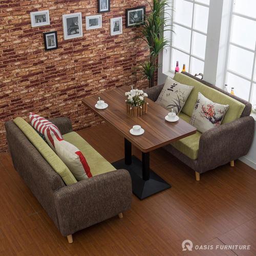 咖啡厅沙发的尺寸有哪些?如何选择款式风格