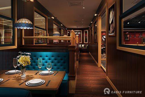 如何区分高档西餐厅家具?布局西餐厅桌椅很讲究?