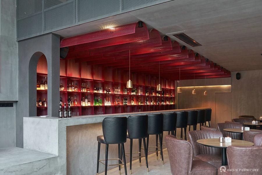 杭州工业风COS.MOS 29酒吧家具定制工程案例