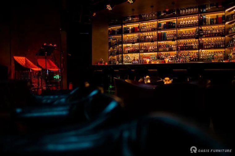 深圳渡悦笙酒吧家具定制工程案例