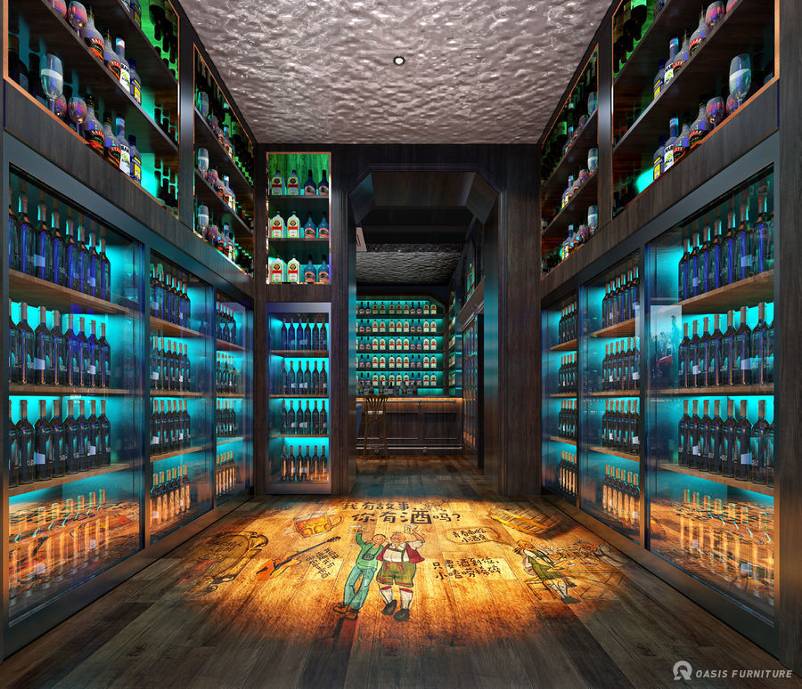 重庆工装酒吧家具定制工程案例