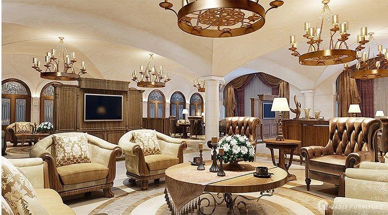 欧式酒店家具定制布局如何护理