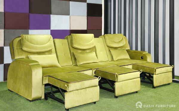 休闲娱乐会所常见的足疗沙发种类