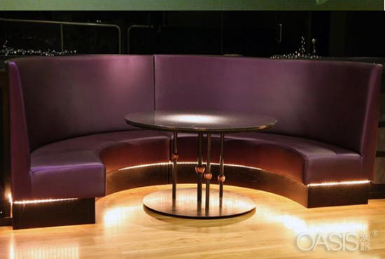 茶餐厅沙发
