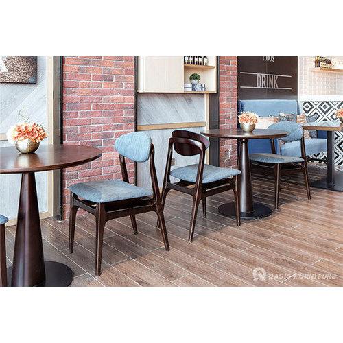 台类实木咖啡厅桌椅厂家直销