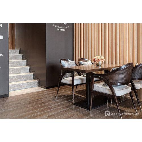台类实木咖啡厅桌椅厂家