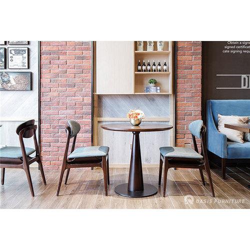 台类实木咖啡厅桌椅2020