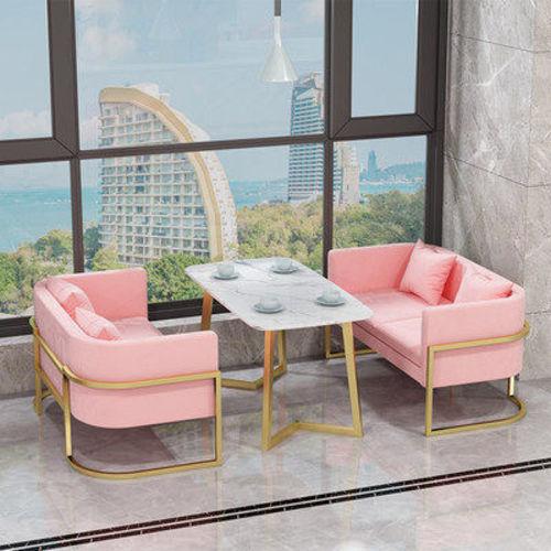 户外家具茶餐厅沙发定制