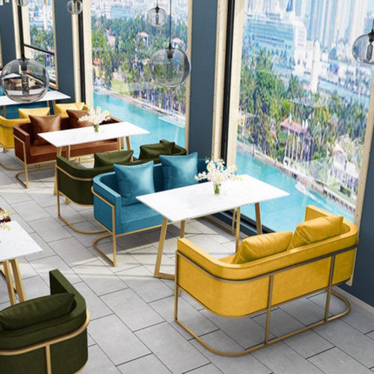沙发类茶餐厅卡座沙发厂家
