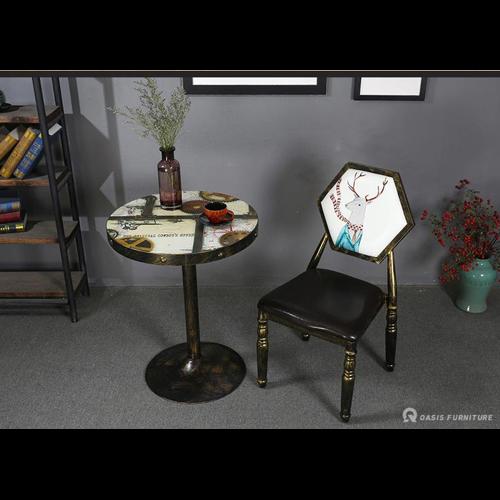 台类西餐厅桌椅定制