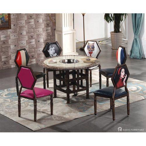 休闲椅火锅餐厅桌椅