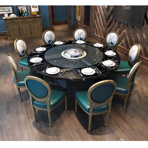 柜类韩式风火锅桌椅组合
